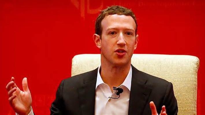 Nhà đồng sáng lập, CEO Facebook Mark Zuckerberg - Ảnh: Bloomberg.