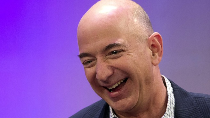 Nhà sáng lập Amazon Jeff Bezos - Ảnh: CNBC.