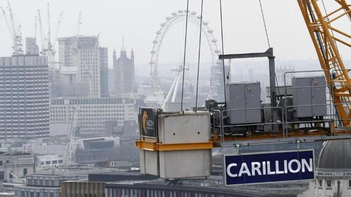 Carillion là hãng xây dựng lớn thứ 2 tại Anh - Ảnh: Getty Images