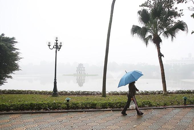 Hà Nội chìm trong sương mù - ảnh 2