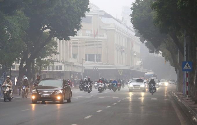 Hà Nội chìm trong sương mù - ảnh 5