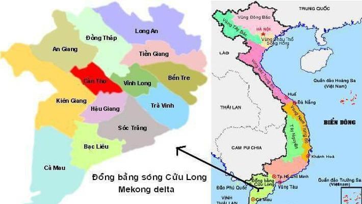 Chính phủ định hướng phát triển vùng đồng bằng sông Cửu Long theo hướng tăng trưởng xanh, bền vững và thích ứng với biến đổi khí hậu; có vai trò, vị thế quan trọng đối với quốc gia và khu vực Đông Nam Á.
