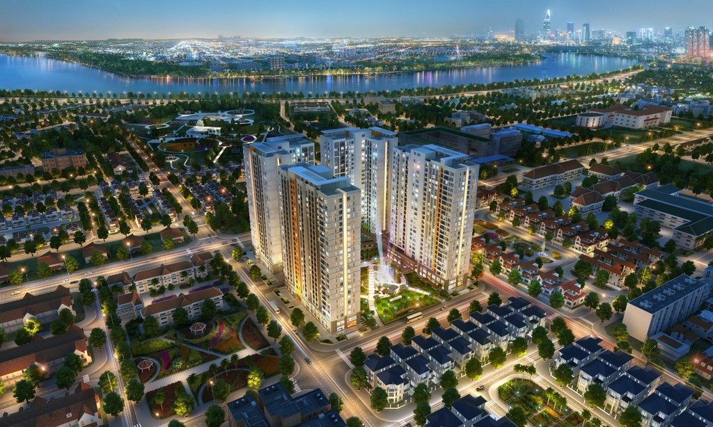 Victoria Village quy hoạch đồng bộ, hoàn chỉnh, gần sông, gần công viên lớn tại Thạnh Mỹ Lợi.