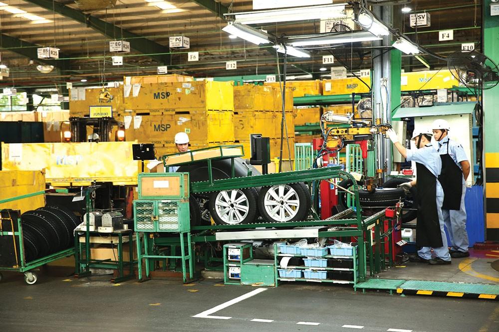Chế biến, chế tạo trở thành động lực tăng trưởng chính của ngành công nghiệp với mức tăng trưởng ấn tượng 14,5%. Ảnh: Tiên Giang