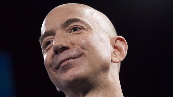 Jeff Bezos - Nhà sáng lập, CEO của Amazon - Ảnh: Getty Images.