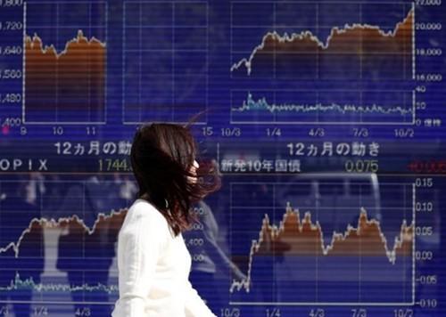 Nhiều thị trường lớn của châu Á sáng nay đi xuống. Ảnh:Reuters