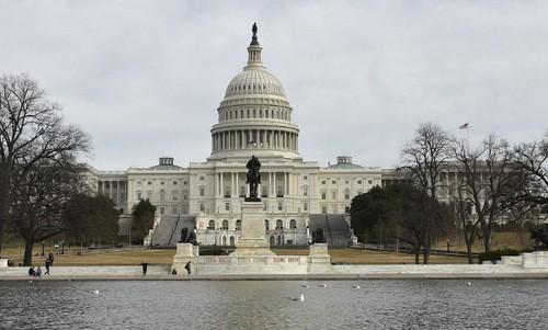 Tòa nhà Quốc hội Mỹ. Ảnh:AFP.
