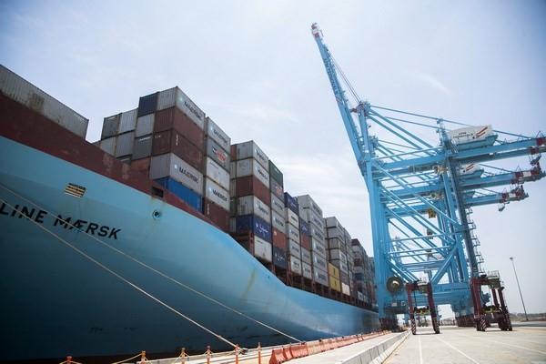 Một cảng hàng hóa ở Lazaro Cardenas, bang Michoacan, Mexico. (Nguồn: AFP/TTXVN)