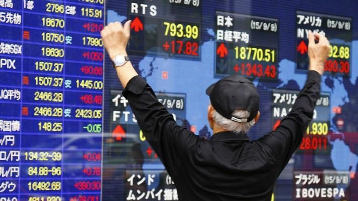 Chứng khoán châu Á đã hồi phục sau một phiên giảm chóng mặt - Ảnh: AP/Quartz.