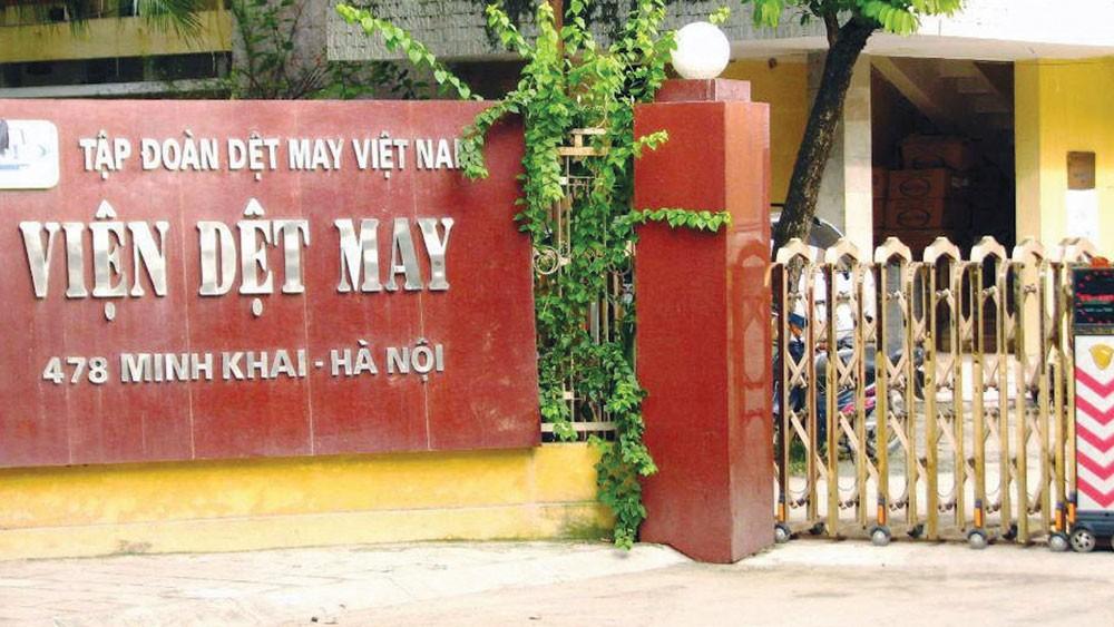 Viện Dệt may đang quản lý khu đất hơn 2.850 m2 ở 478 Minh Khai, Hà Nội