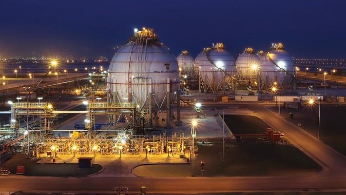 Một nhà máy lọc dầu thuộc tập đoàn dầu khí quốc gia Adnoc của UAE.