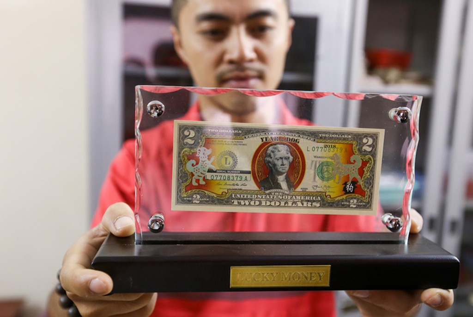 Săn tiền in hình linh vật Tết Mậu Tuất để lì xì ở Sài Gòn - ảnh 6