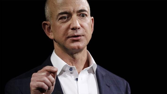 Tỷ phú Jeff Bezos của Amazon - Ảnh: Bloomberg.