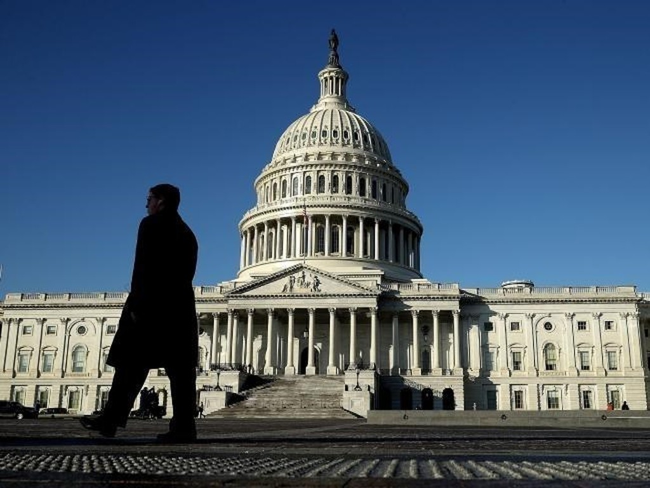 Trụ sở Quốc hội Mỹ. (Nguồn: AFP)