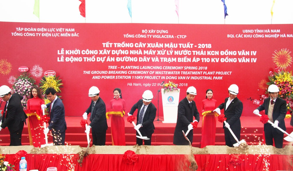 Viglacera khởi động 2 dự án tại Hà Nam