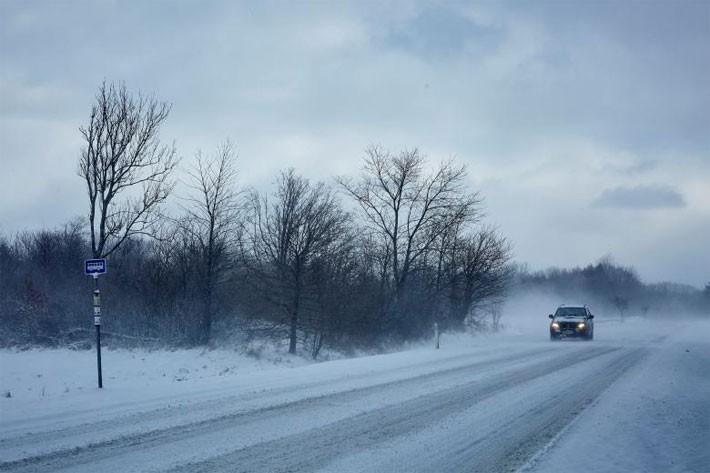 Hình ảnh siêu bão tuyết phủ trắng châu Âu - ảnh 8