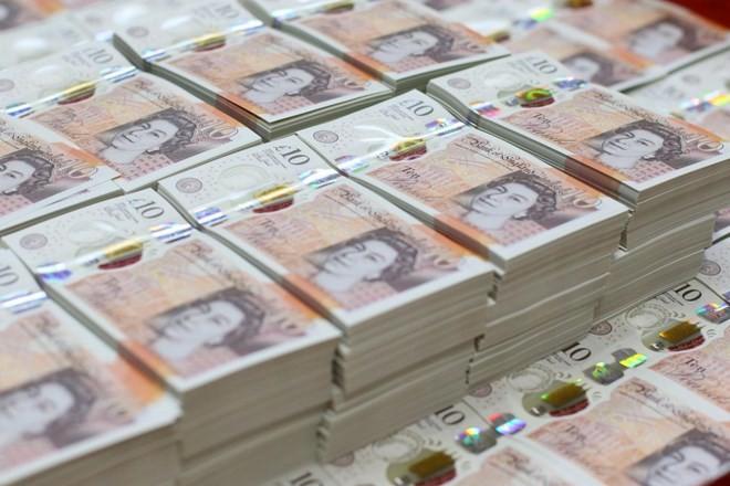 Đồng 10 bảng Anh mới. (Nguồn: PA)