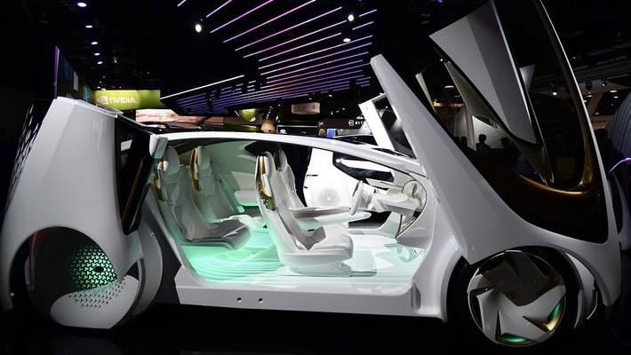 Toyota đang đẩy nhanh tiến trình phát triển ôtô tự lái thương mại - Ảnh: MarketWatch.