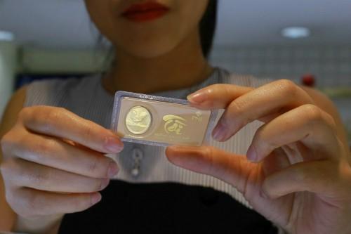 Giá vàng trong nước sáng nay tăng vài chục nghìn đồng mỗi lượng. Ảnh:Thành Nguyễn.