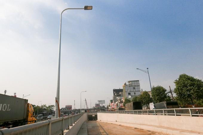 Hầm chui cửa ngõ Tây Bắc TP HCM trước ngày thông xe - ảnh 6