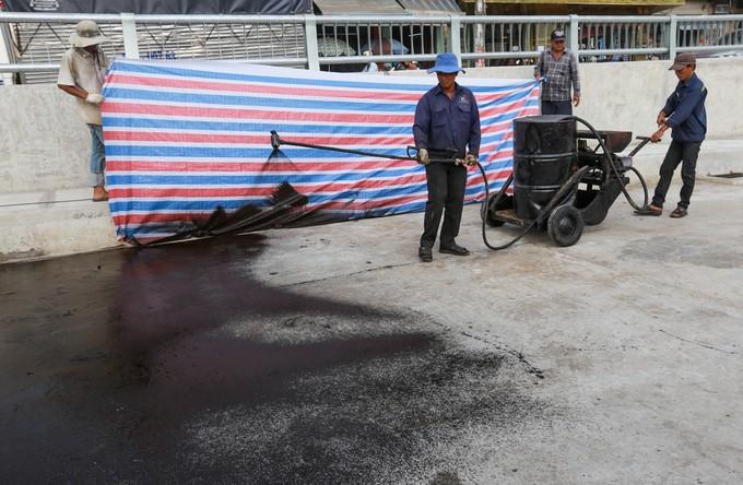 Hầm chui cửa ngõ Tây Bắc TP HCM trước ngày thông xe - ảnh 11