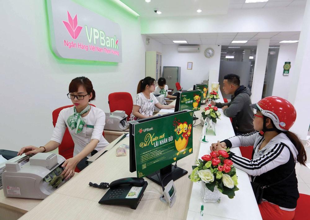 VPBank dự kiến lợi nhuận trước thuế năm 2018 đạt 10.800 tỷ, tăng 33% so với năm 2017. Ảnh: Trần Việt