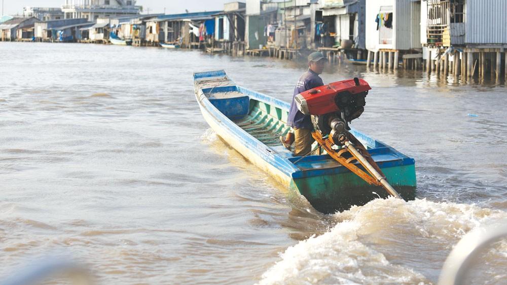 WB, ADB tài trợ cho nhiều dự án ứng phó biến đổi khí hậu tại Việt Nam. Ảnh: Lê Tiên