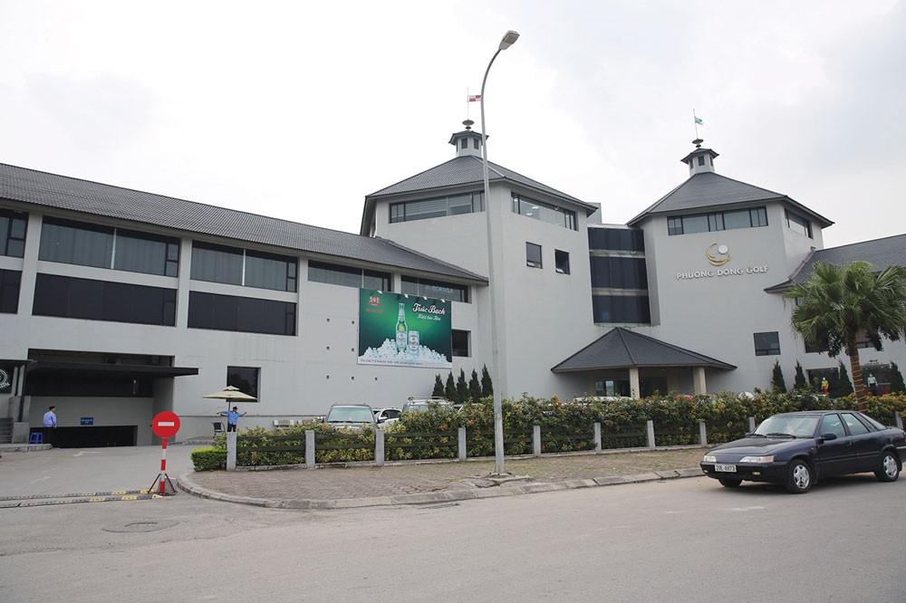 Dự án Sân tập golf Phương Đông đã được hoàn thành và đưa vào khai thác sử dụng từ năm 2011. Ảnh: Lê Tiên