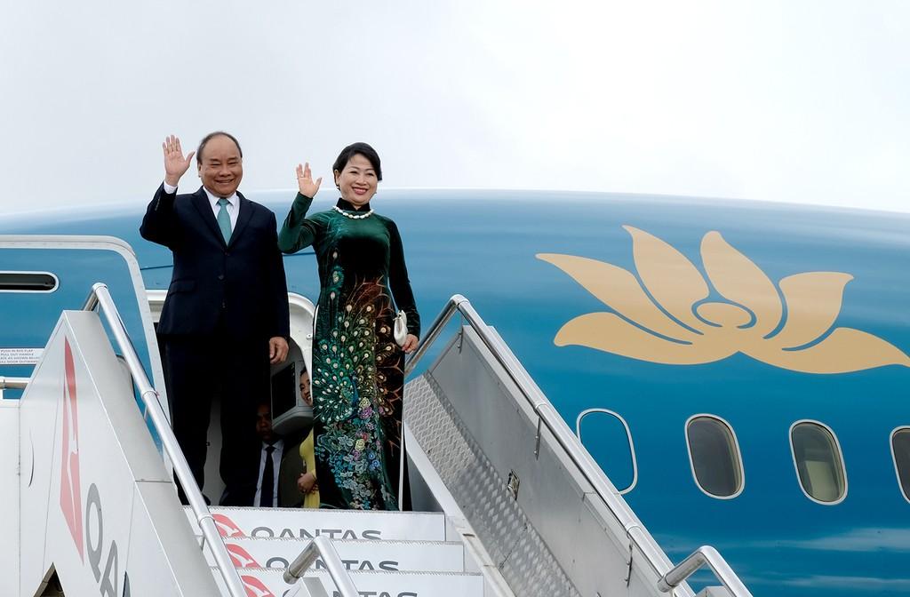 Thủ tướng đến thành phố Sydney, dự Hội nghị ASEAN-Australia - ảnh 1