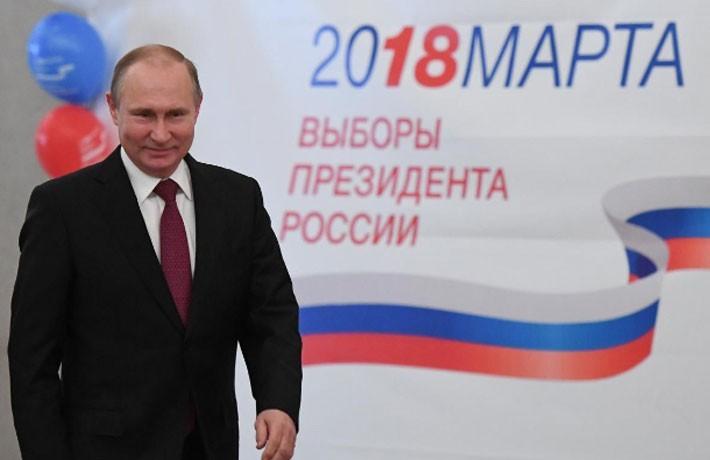 Người Nga ăn mừng ông Putin tái đắc cử Tổng thống - ảnh 4