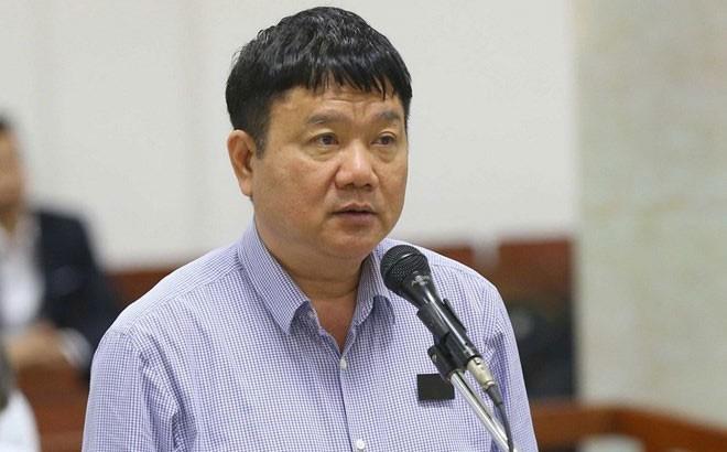 Ông Đinh La Thăng trả lời thẩm vấn của hội đồng xét xử