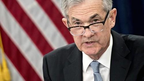 """Tân Chủ tịch Fed - Jerome """"Jay"""" Powell trong phiên họp hôm qua. Ảnh:AFP"""
