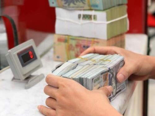 Tỷ giá USD ổn định tại các ngân hàng thương mại. Ảnh minh họa: TTXVN