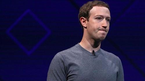 Mark Zuckerberg bị chỉ trích vì khả năng xử lý khủng hoảng trong scandal này. Ảnh:AFP