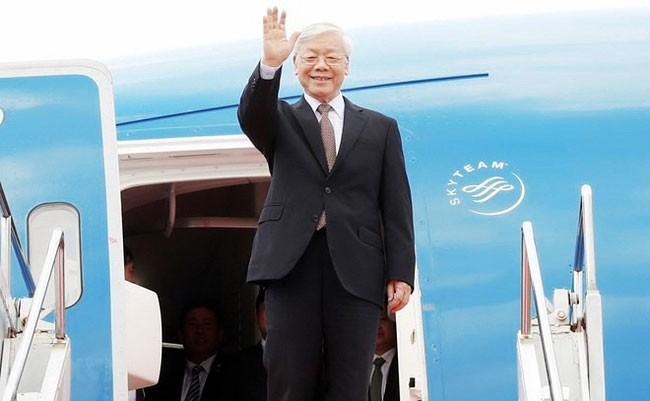 Chuyến thăm của Tổng Bí thư Nguyễn Phú Trọng tới Cộng hòa Pháp và Cộng hòa Cuba sẽ diễn ra từ ngày 25 đến ngày 30/3. Ảnh: Trí Dũng