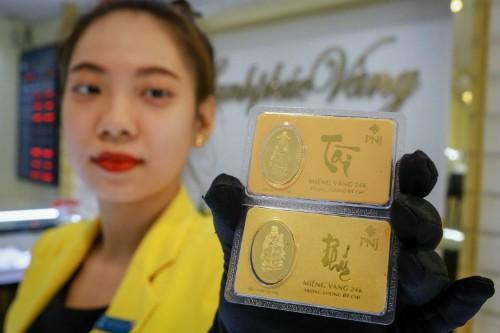 Giá vàng trong nước tăng nhẹ sáng nay. Ảnh:Thành Nguyễn.
