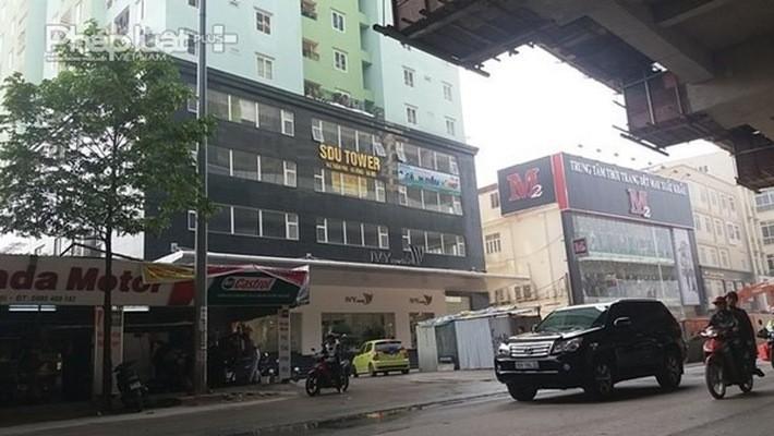 Tầng kỹ thuật (tầng K) thuộc Tòa nhà SDU - 143 Trần Phú bị phát hiện vi phạm về phòng cháy chữa cháy.