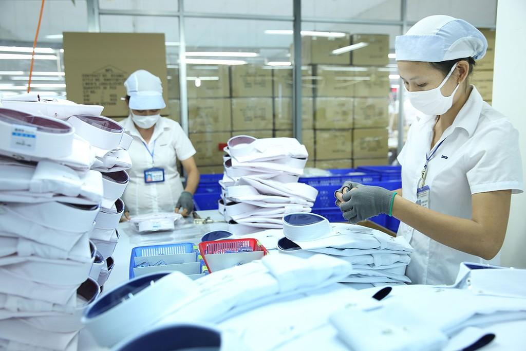Xuất khẩu các mặt hàng dệt may sang thị trường Pháp rất thuận lợi. Ảnh: Lê Tiên