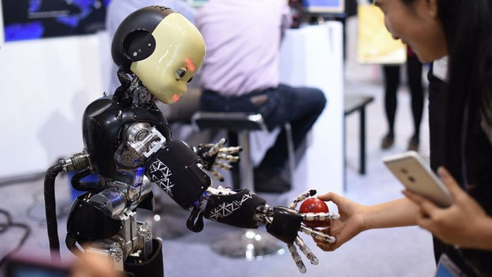 Trí tuệ nhân tạo là một trong những lĩnh vực mà Trung Quốc đang đẩy mạnh phát triển - Ảnh: Getty.