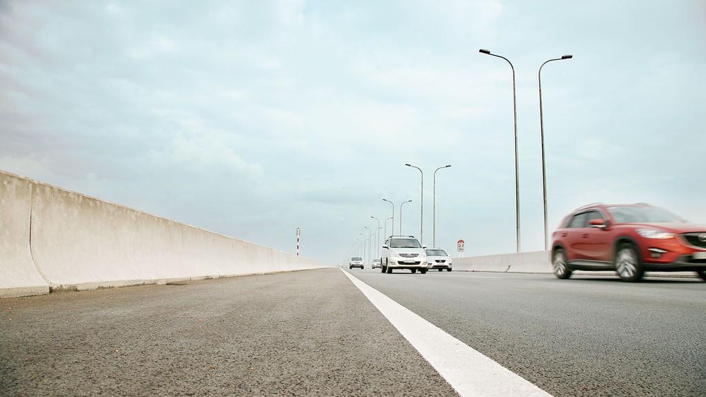 Dự án cao tốc Trung Lương - Mỹ Thuận có tổng mức đầu tư 9.668 tỷ đồng, với tổng chiều dài là 51 km. Ảnh: Quang Tuấn