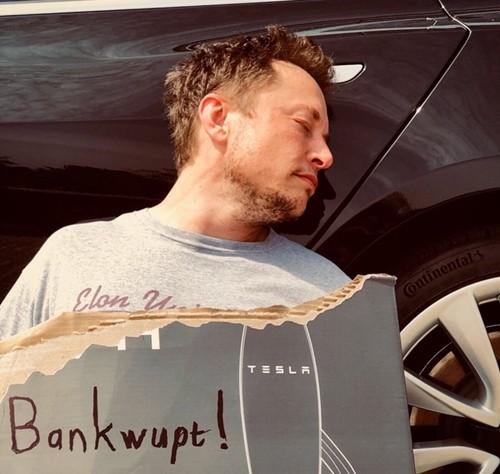 Bức ảnh đăng trên Twitter của Elon Musk cách đây vài giờ.