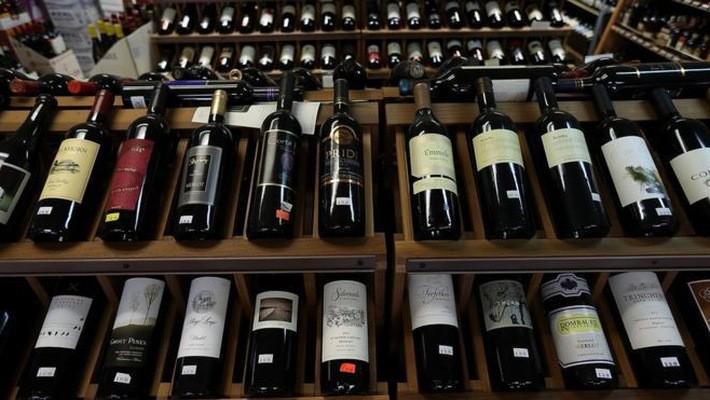 Rượu vang Mỹ là một trong những mặt hàng bị Trung Quốc áp thuế quan - Ảnh: Getty/BBC.