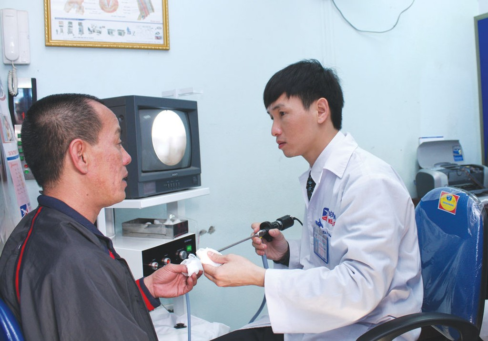 Chỉ số giá nhóm dịch vụ y tế 3 tháng đầu năm tăng tới 35,32% so với cùng kỳ năm trước. Ảnh: Trần Sơn