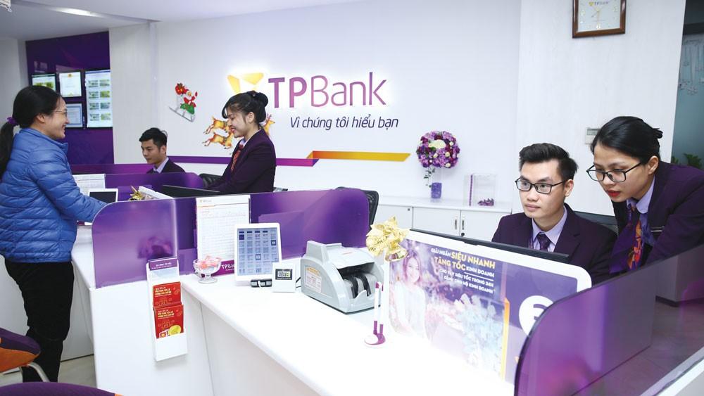 Lợi nhuận trước thuế năm 2017 của TPBank đạt 1.205 tỷ đồng, tăng trên 70% so với năm 2016. Ảnh: Tiên Giang