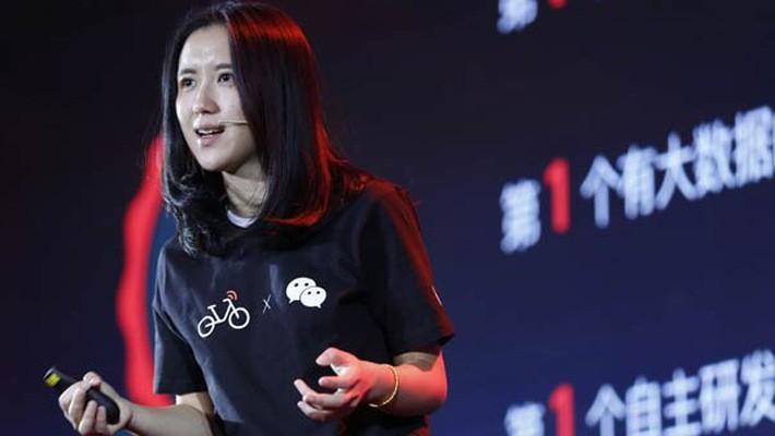 Hu Weiwei - đồng sáng lập Mobike - Ảnh: Scmp.