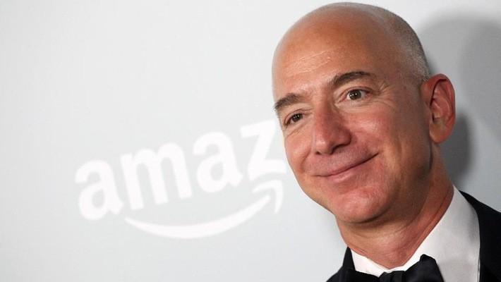 Ông Jeff Bezos, nhà sáng lập kiêm CEO của Amazon - Ảnh: Forbes.