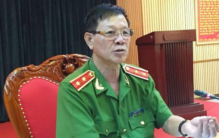 Trung tướng Phan Văn Vĩnh - Ảnh: Tư liệu Tuổi Trẻ