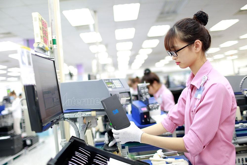 Khu vực FDI xuất siêu 7,59 tỷ USD trong quý I/2018. Ảnh: Quang Hưng
