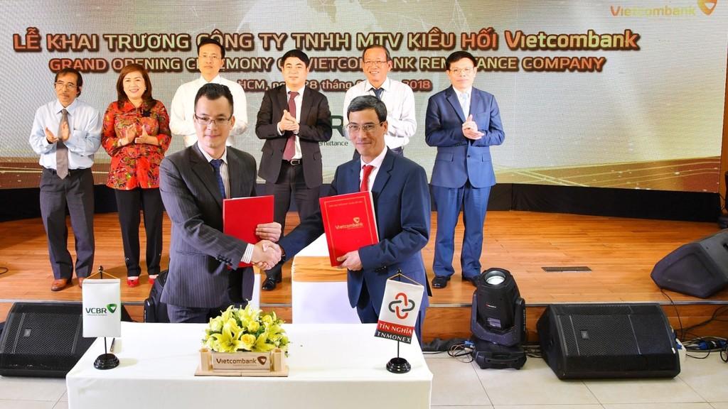VCBR và TN Monex ký kết thỏa thuận hợp tác