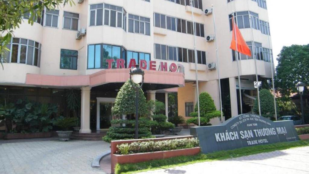 Khách sạn Thương mại trên khu đất rộng 2.766 m2 Nhà nước cho thuê trong 50 năm tại 25 Ngọc Khánh, quận Ba Đình, Hà Nội. Ảnh: Tiên Giang St